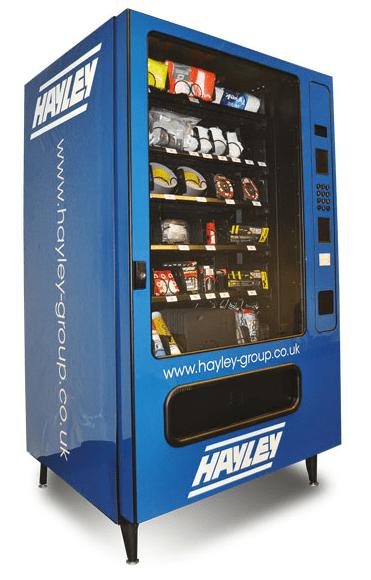 Hayley SmartVend vending machine