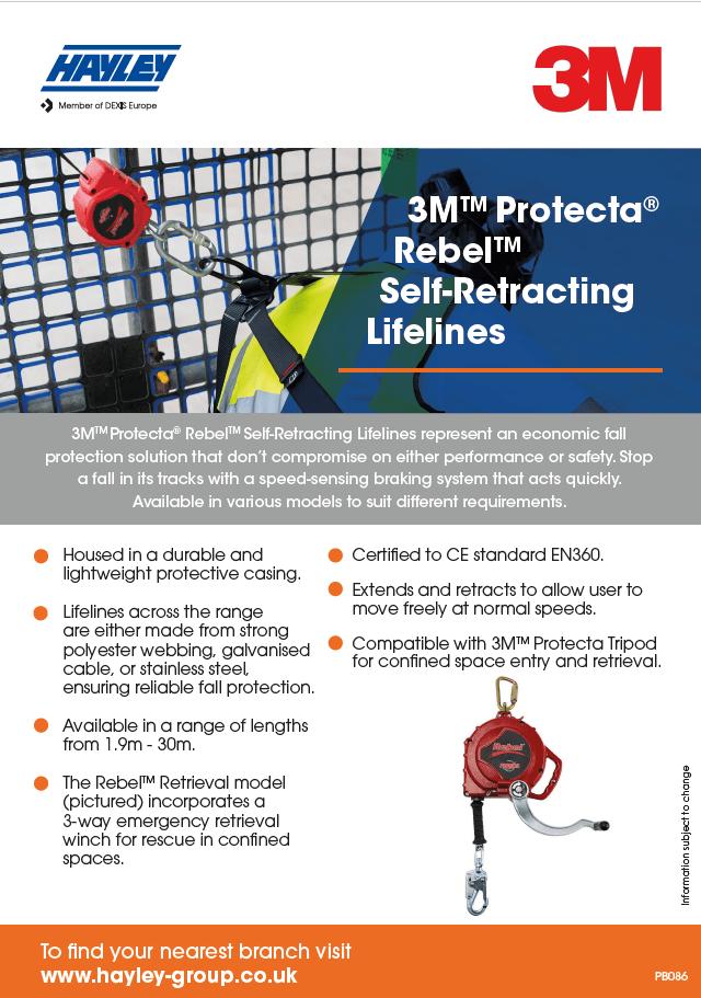 3M Protecta Self Retracting Lifelines Product Bulletin