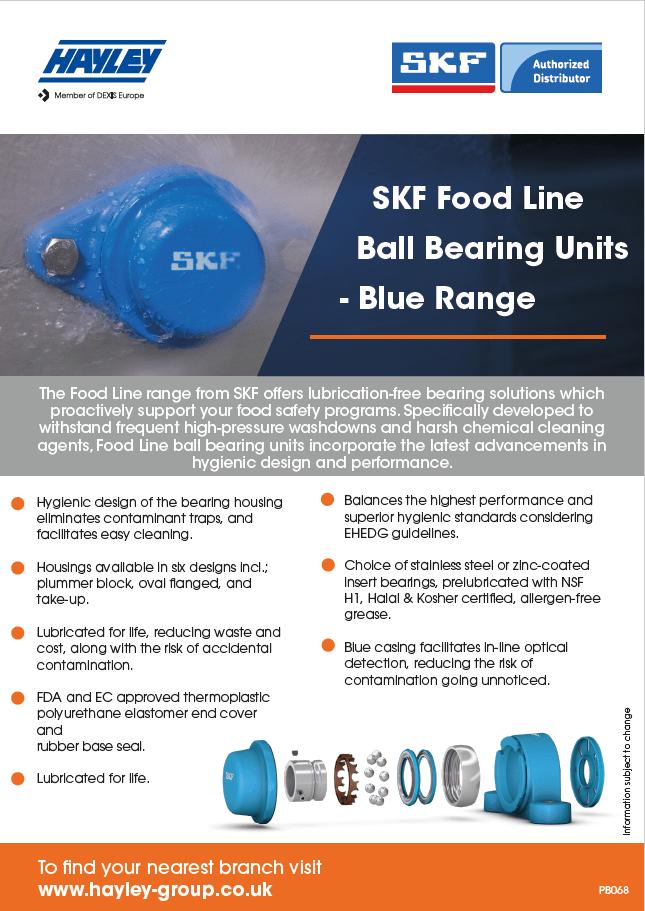 SKF Food Line Ball Bearing Units