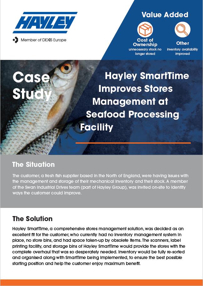Fish Processing Smarttime Case Study