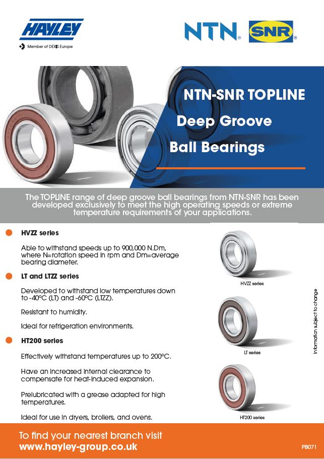NTN-SNR TOPLINE