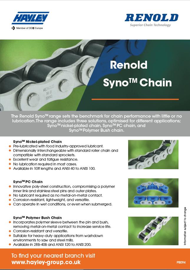 Renold Syno Chain