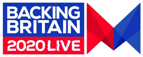 Backing Britain Live 2020 logo