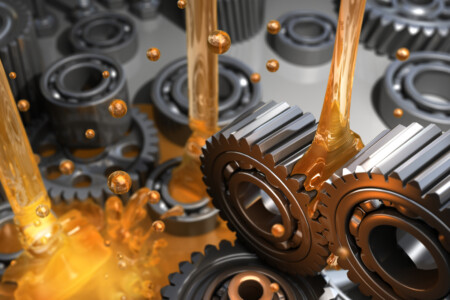 lubrication of gears illustration