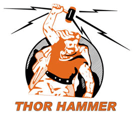 thor hammer tools logo