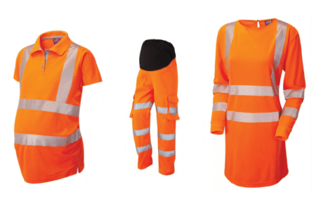 maternity hi-vis for rail