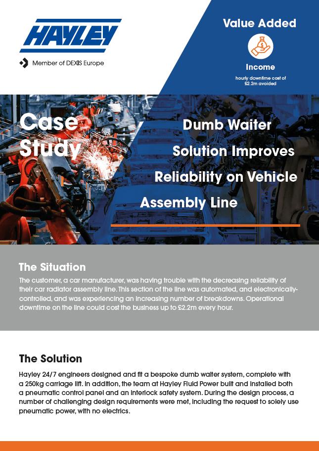 car assembly line case study