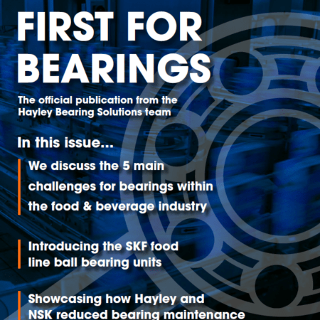 First For Bearings Issue 1 Front Page