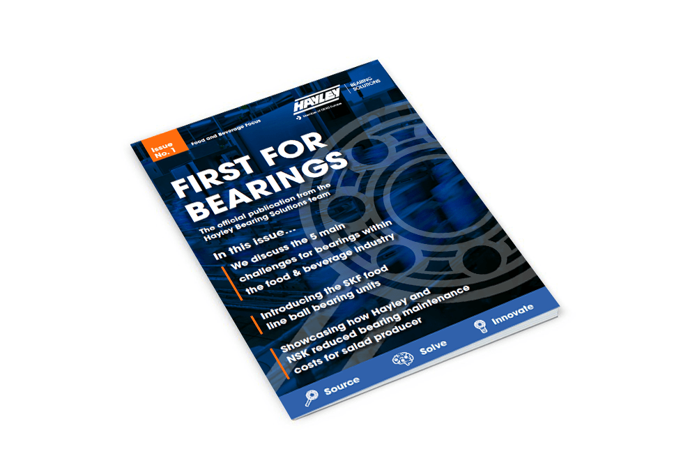 First For Bearings Issue 1 MockUp