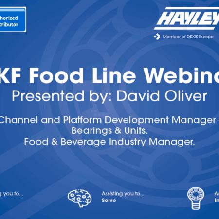 SKF Food Line Webinar front slide