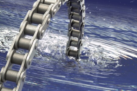 RENOLD Hydro-Service chain in water
