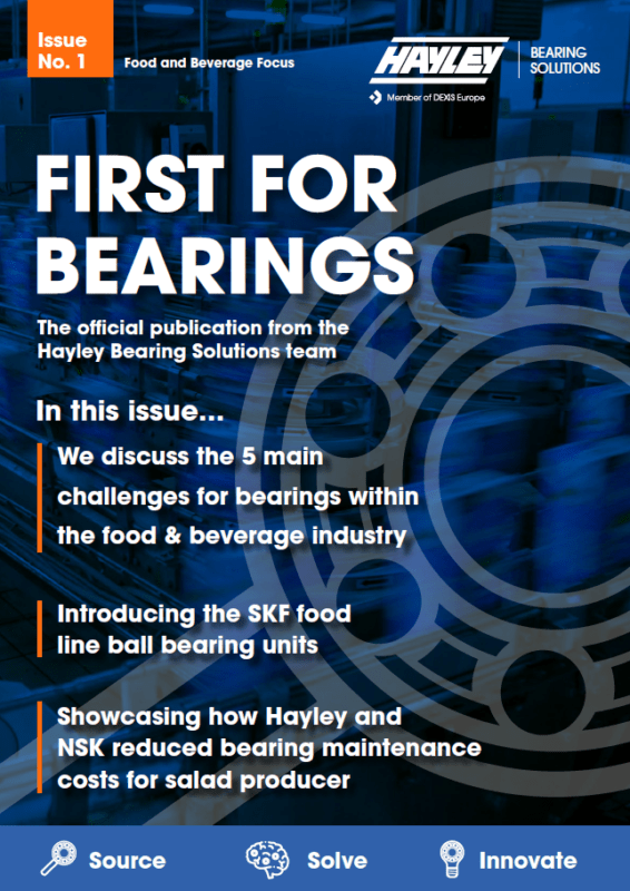 First for Bearings Issue 1