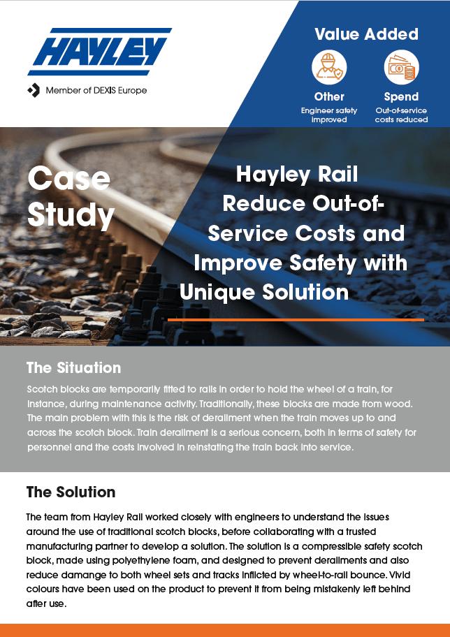 Hayley Rail case study