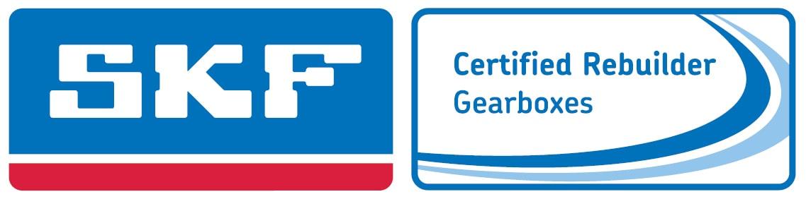 SKF Certified Gearbox Rebuilder Logo