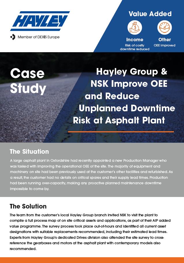 Cs081 Case Study NSK Asphalt Plant