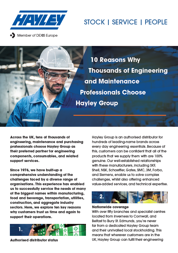 10 reasons why thousands of people choose hayley group