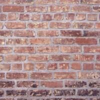 building materials bricks and mortar in a wall