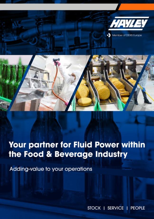 Hayley Fluid Power Food & Beverages Overview Brochure