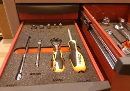 BETA tool kit thermoformed tray