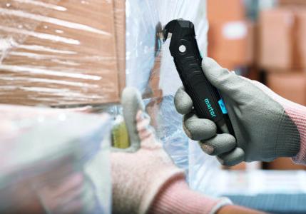 MARTOR Secumax safety knife cutting cellophane